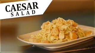 Caesar Salad Recipe | Homemade Caesar Salad | Easy & Simple | Foodies