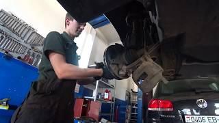 Замена тормозных колодок с дисками на Mercedes A170 CDI