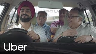 ICC Cricket World Cup 2019 - Uber to the World Cup | Three Friends | Uber
