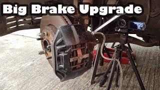 Big Brake Upgrade - Installing LS400 brakes on a Toyota Supra Turbo