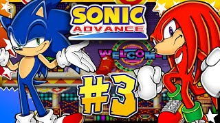 Sonic Advance GBA - Part 3 Casino Paradise Zone w/Knuckles