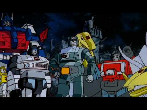 Transformers The Movie Us Ending