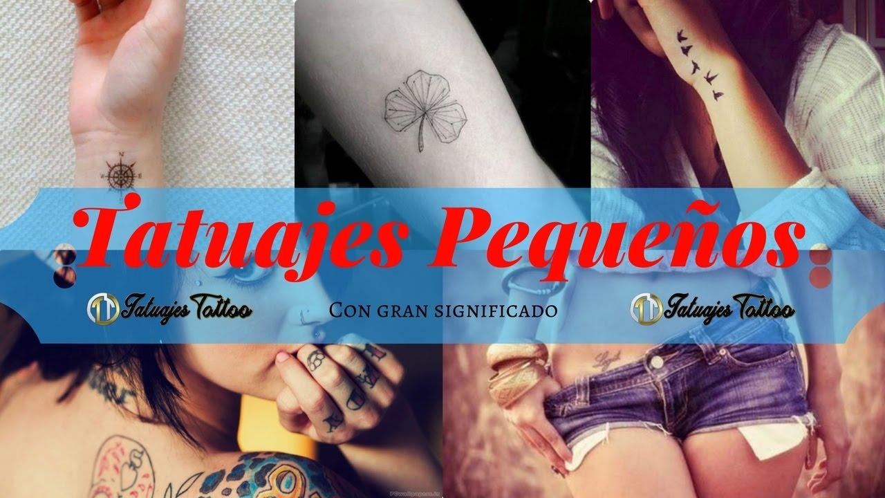 Tatuajes Pequeños Pero Con Significados Profundos Y De Manera