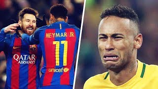 The day Messi made Neymar cry - Oh My Goal
