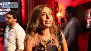 بالفيديو : داليا مصطفى المهرجان حاجة مشرفه وسعيدة لهداء المهرجان للساحر