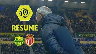 FC Nantes - AS Monaco (1-0)  - Résumé - (FCN - ASM) / 2017-18