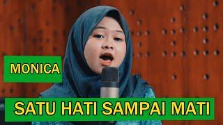 Monica ,Dimas Gepenk ft Andi 33 Live COVER Satu Hati Sampai Mati
