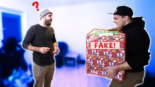 BRUDER GEPRANKT! - Das Fake Geschenk!