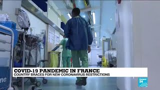 French hospitals reaching saturation point