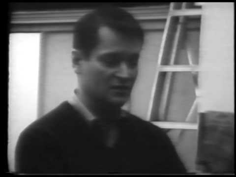 John Ashbery: outtakes from the film series, USA: Poetry