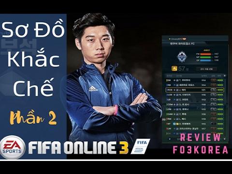 [Fo3 Korea] - Giải Mã Sơ Đồ Khắc Chế (phần 2) FIFA ONLINE 3 NEW ENGINE 2017  #59
