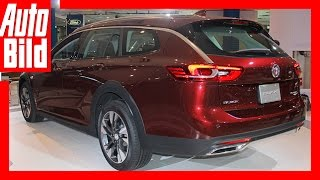 Buick Regal Tour X (NYIAS 2017) - Der US Opel Insignia Country Tourer