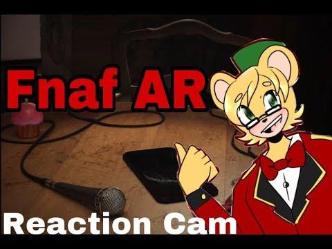 A phone Game? of Fnaf?/Reaction Cam/Fnaf AR Tailor