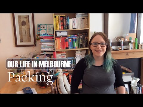 Our Life in Melbourne: Packing