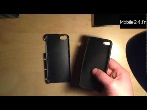 [Test] Coque Artwizz Seejacket Alu pour iPhone 5 - Titane