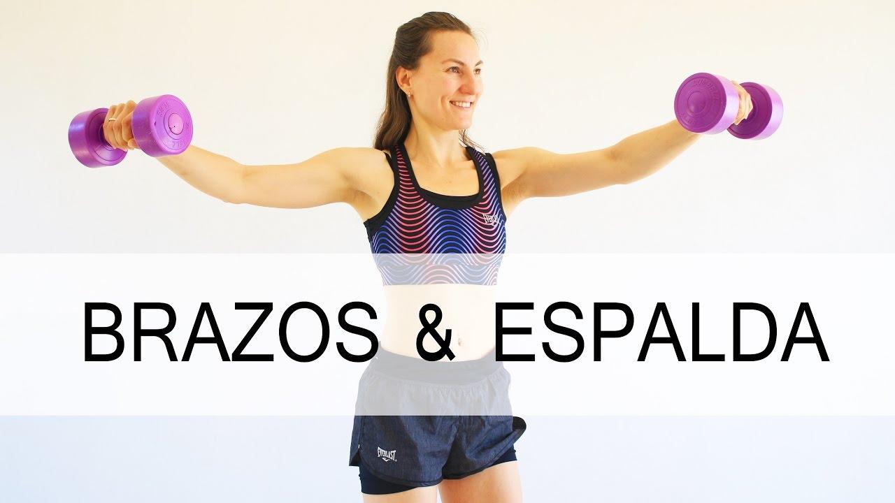 ejercicios para adelgazar brazos espalda y hombros