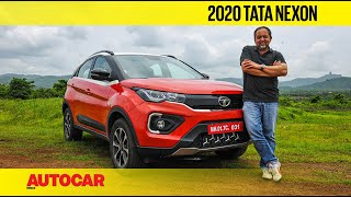 2020 Tata Nexon review - New look, more power and added features | First Drive | Autocar India