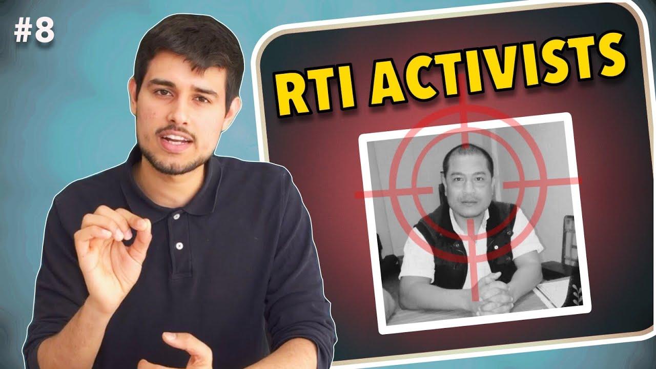 RTI Activists in India | Ep.8 The Dhruv Rathee Show (Demonetisation,  Unemployment Surveys)