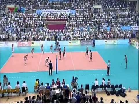 Vietnam vs Shandong Set 4 (Bán kết/Semifinal) - VTV Cup 2013