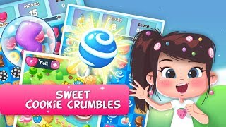 Sweet cookie crumbles swipe - Addictive match-3 type of game