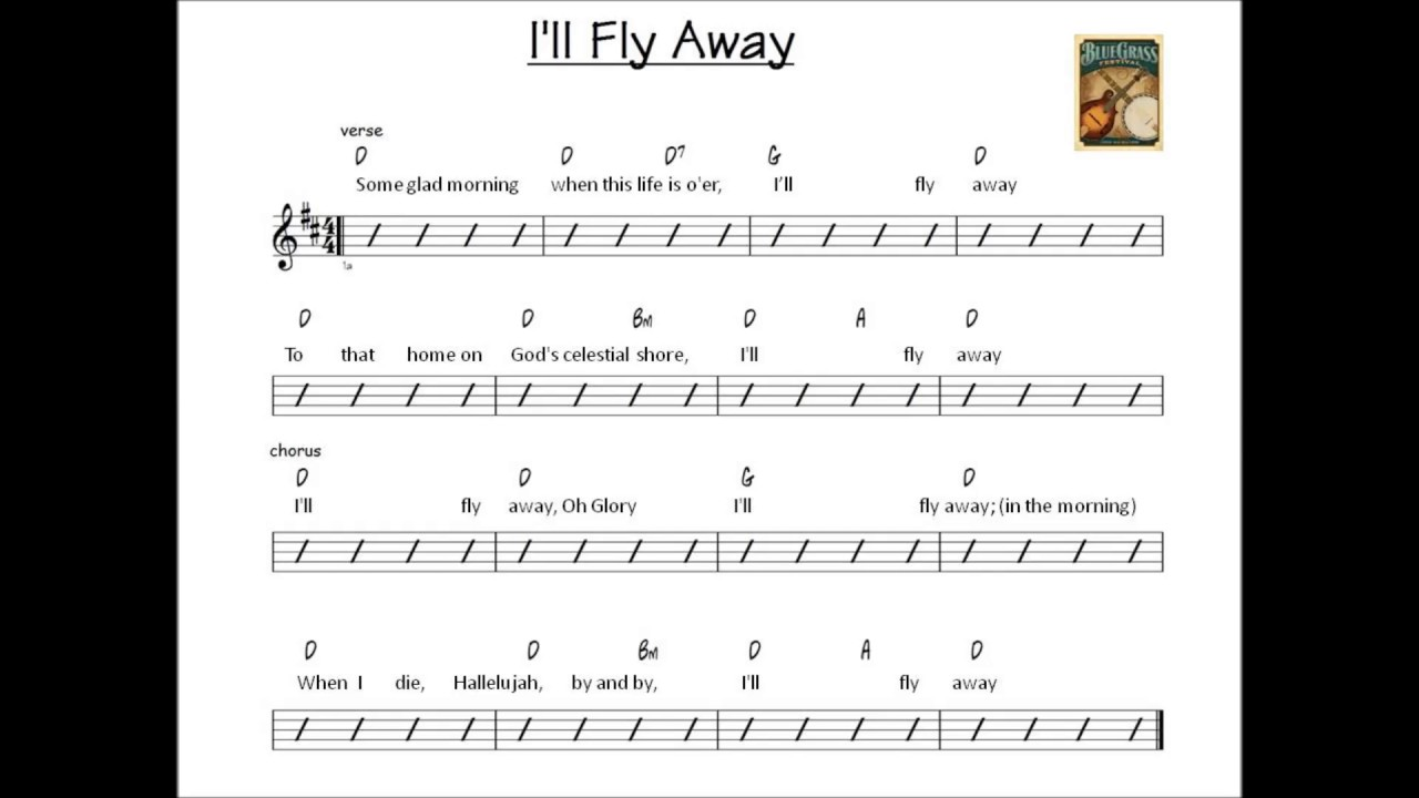 Ill fly away backing track key of d youtube ill fly away backing track key of d hexwebz Image collections