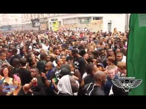Notting Hill Carnival aug 30th 2015, All Saints Road. Volcano Sound system. SOUNDSUPREME_TV