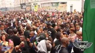 Notting Hill Carnival aug 30th 2015, All Saints Road. Volcano Sound system. SOUNDSUPREME_TV
