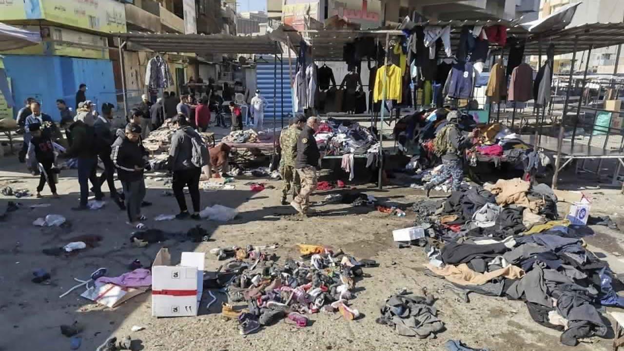 شاهد: تفجير انتحاري في وسط بغداد ومقتل أكثر من 20 شخصا  - نشر قبل 4 ساعة