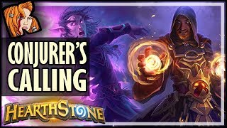 How Good Is Conjurer's Calling? (My Card Reveal!) - Rise of Shadows Hearthstone