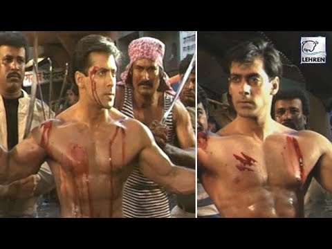 Salman Khan's Fight Scene From His Movie Veergati | Flashback Video