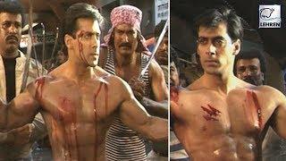Salman Khan's Fight Scene From His Movie Veergati | Flashback Video