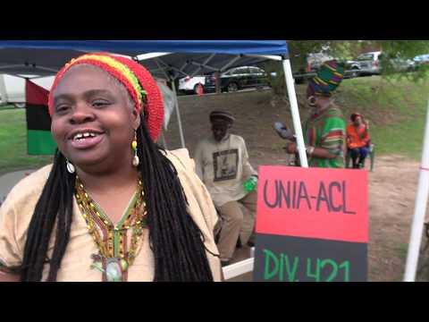 Red, Black & Green UNIA Energy at the Malcolm X Festival in Atlanta