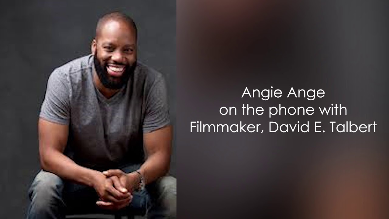 David E  Talbert joins Angie Ange to talk auditions for his new Netflix  musical, his journey & more