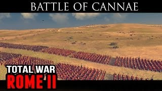 Battle of Cannae (Historical Battle Gameplay)