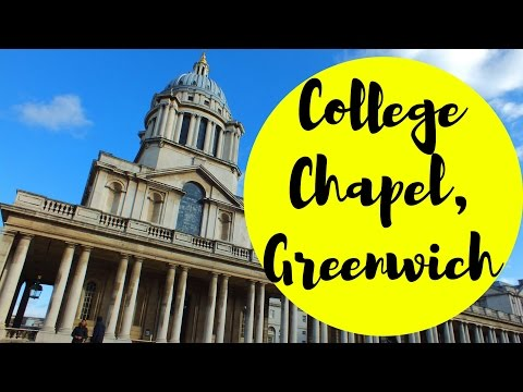 Royal Naval College Chapel♥ Greenwich, London | Travel Blog | Traveling | UK | Architecture
