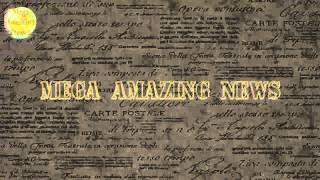 Заставка для видео MegaAmazingNews начало