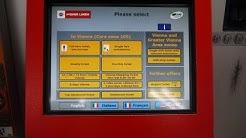 Vienna Public Transport - Buying Ticket / Wien U-Bahn - Kaufticket