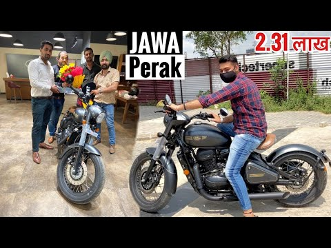 Brand New Bike worth Rs. 2.31 Lakh - 2020 JAWA PERAK | Owner's Review