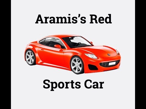 Aramis's Red Sports Car - Children's Bedtime Story/Meditation