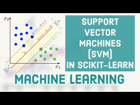 Machine Learning Tutorial 7 - Support Vector Machines (SVM) in Scikit-learn thumbnail