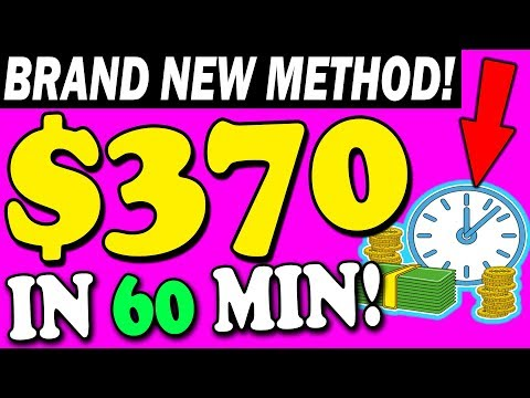 Earn $370+ Per Day BRAND NEW Copy and Paste Method (MAKE MONEY ONLINE!)