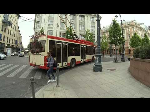 Trolleybus AMBER Made in Lithuania