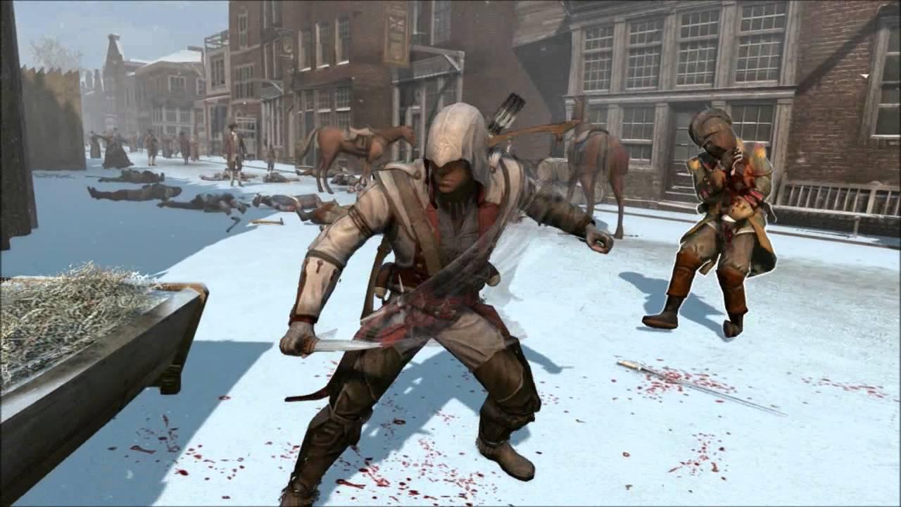 Sword Tomahawk Gameplay Assassin S Creed Iii Youtube