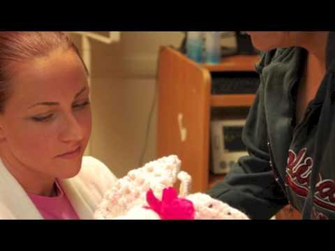 Rainbow baby announcement after stillbirth