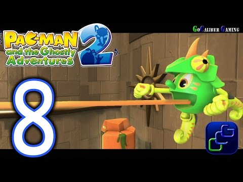 Pac-Man and the Ghostly Adventures 2 Walkthrough - Part 8 - Paclantis: Viva Paclantis All Fruits