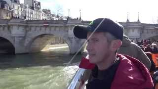 Париж из Самары. Прогулка на теплоходе по Сене