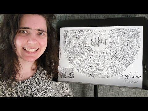 ASMR Tingledom Map Tracing (Viewers' Appreciation)  ☀365 Days of ASMR☀