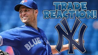 TORONTO BLUE JAYS TRADE JA HAPP TO NEW YORK YANKEES FOR BRANDON DRURY AND BILLY MCKINNEY REACTION