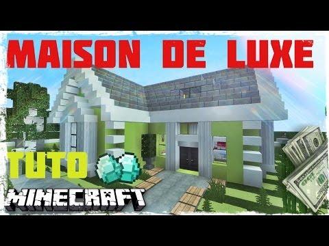 Minecraft tuto comment faire une belle maison et la d - Comment faire une belle chambre minecraft ...