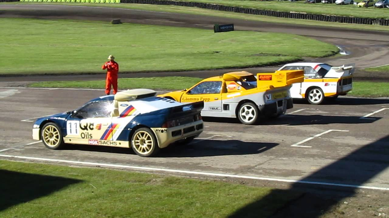 FIA World Rallycross Championship, Lydden Hill 2014 #GroupB - YouTube